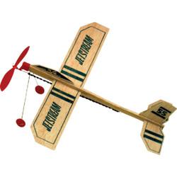 Paul K Guillow Jetstream 13-1/4 In. Balsa Wood Glider Plane 55 Pack of 18