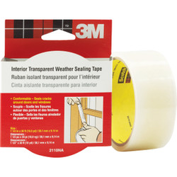3M 1-1/2 In. x 30 Ft. Clear Weatherseal Tape 2110