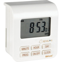 Woods 125V Indoor Digital Timer 50008WD