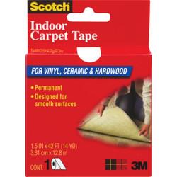3M Scotch 1.5 In. x 42 Ft. Indoor Carpet Tape CT2010