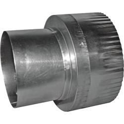 Dundas Jafine 3 In. Dia To 4 In. Dia Aluminum Vent Increaser RA34