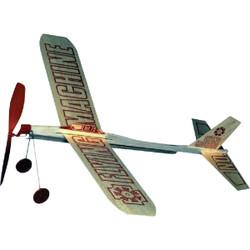 Paul K Guillow Flying Machine 17 In. Balsa Wood Glider Plane 75