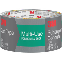 3M 1.88 In. x 10 Yd. Multi-Use Home & Shop Duct Tape, Gray 2910-C
