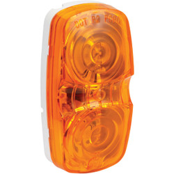 Peterson Low-Profile 12 V. Amber Clearance Light V138A