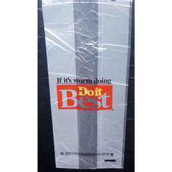 Do it Best 5 Lb Capacity Clear Plastic Nail Shopping Bag (1500-Pack) ACR00936