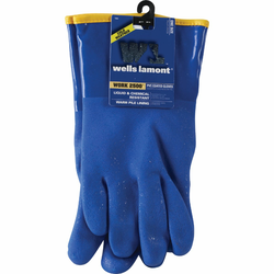 Wells Lamont Men's 1 Size Fits All Chemical Resistant PVC Coated Glove 194