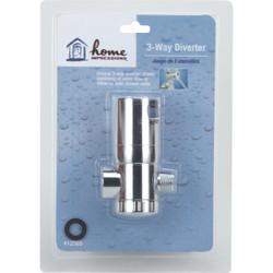 Home Impressions Chrome 3-Way Shower Diverter 412565
