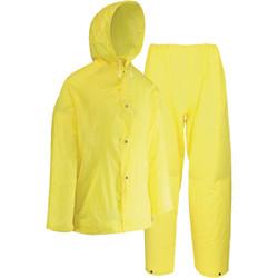 West Chester XL 2-Piece Yellow EVA Rain Suit 44110/XL