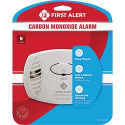 First Alert Plug-In 120V Electrochemical Carbon Monoxide Alarm 1039730