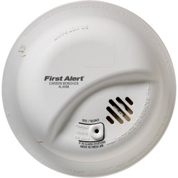 First Alert Hardwired 120V Electrochemical Carbon Monoxide Alarm CO5120BN