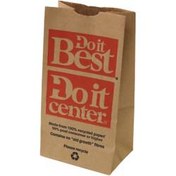 Do it Best/Do it Center 3 Lb. Capacity Bulvark Paper Shopping Bag (250-Pack)