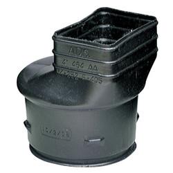 Advanced Basement 2x3 Downspout Adapter 464AA