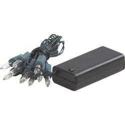 J Hofert Clear 10-Bulb Mini Incandescent Battery Operated Light Set 2311-02