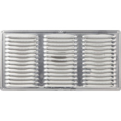 Air Vent 16 In. x 8 In. Mill Aluminum Under Eave Vent 84210 Pack of 24