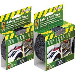 LIFESAFE 2 In.x 15 Ft. Black Anti-Slip Walk Safety Tape RE3951