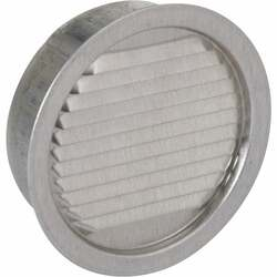 Air Vent 3 In. Aluminum Mini Louver Soffit Vent (6 Count) 50002