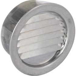 Air Vent 2 In. Aluminum Mini Louver Soffit Vent (6 Count) 50001