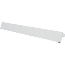 Amerimax 3/8 In. x 9 In. White Aluminum Smooth Siding Corner 61025