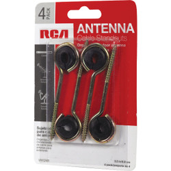 RCA 3-1/2 In. Antenna Wireholder (4-Pack) VH124R