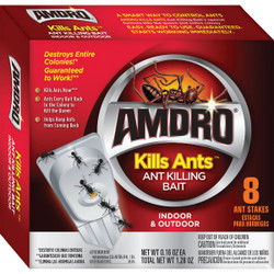 Amdro 1.28 Oz. Solid Ant Bait Stake (8-Pack) 100531828
