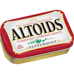 Altoids 1.76 Oz. Peppermint Mints 13201 Pack of 12