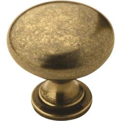 Amerock Allison Burnished Brass 1-1/4 In. Cabinet Knob BP53005BB