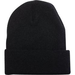 Outdoor Cap Black Cuffed Sock Cap KN-400-BLACK