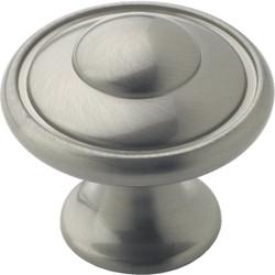 Amerock Allison Satin Nickel 1-3/16 In. Cabinet Knob BP53002G10