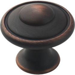 Amerock Allison Oil Rubbed Bronze 1-3/16 In. Cabinet Knob BP53002ORB