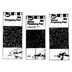 3M 4-1/2 In. x 11 In. Paint Stripping Abrasive Stripping Pad 7413NA