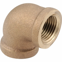 Anderson Metals 1 In. 90 deg Red Brass Threaded Elbow 738100-16
