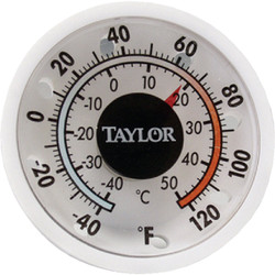 Taylor 1-3/4 In. Dia. Stick-on Thermometer 5380N