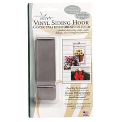 Outdoor Decor Lip-Hook Vinyl Siding Hook (2-Pack) VSH05