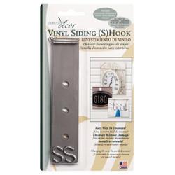 Outdoor Decor S-Hook Vinyl Siding Hook (2-Pack) VSH06