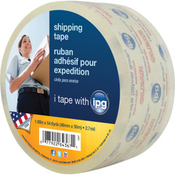 IPG 1.88 In. x 54.6 Yd. Clear Sealing Tape 4367