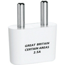 Franzus 2-Prong Foreign Plug Adapter, Great Britain NW4X