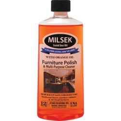 Milsek 12 Oz. Orange Furniture Polish & Cleaner 13575