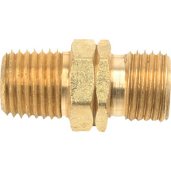 MR. HEATER 1/4 In. MPT x 9/16 In. LHMT Brass Male Pipe Fitting F276152