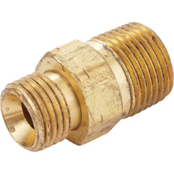 MR. HEATER 3/8 In. MPT x 9/16 In. LHMT Brass Male Pipe Fitting F276153