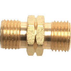 MR. HEATER 9/16 In. LHMT x 9/16 In. LHMT Brass Male Pipe Fitting F276154