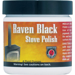 Meeco's Red Devil 4 Oz. Paste Black Stove Polish 402