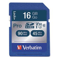 16GB Pro 600X SDHC Memory Card, UHS-I V30 U3 Class 10 98046