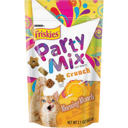 Purina Party Mix Morning Munch-Egg, Bacon, & Cheese 2.1 Oz. Cat Treat 050439
