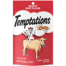 Temptations Hearty Beef 3 Oz. Cat Treat 798460
