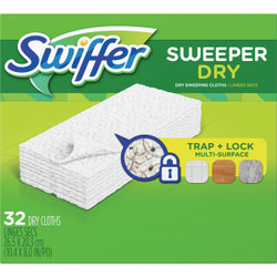 Swiffer Sweeper Dry Cloth Mop Refill (32-Count) 21457