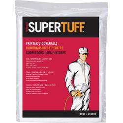 Trimaco SuperTuff Large Reusable Painter's Coveralls 09903