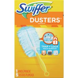 Swiffer 6 In. Handle Electrostatic Fiber Duster 11804