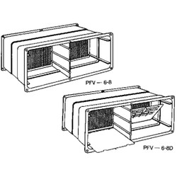 NorWesco 7-1/4 In. x 18-1/2 In. Adjustable Foundation Vent 596037 Pack of 12