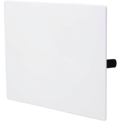 B&K 10 In. x 10 In. White Plastic Wall Access Panel 156-708