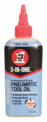 3-in-one Air Tool Lubricant, 4 oz. Container Size Amber   120046